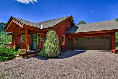 This 3-bed, 2-bath vacation rental home is the perfect base for outdoor fun!