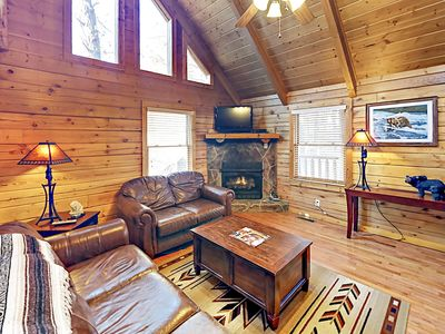 Photo for Secluded 2BR w/ Private Hot Tub & Game Room, Near Pigeon Forge & Gatlinburg
