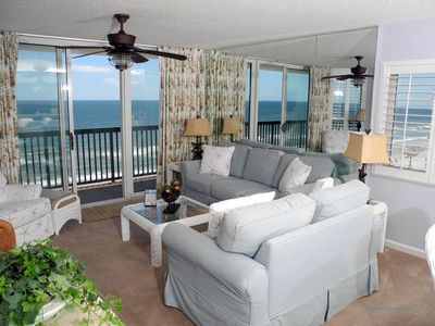 Photo for Ashworth Unit 1001! Stunning Ocean Front Condo! Book your get away today!
