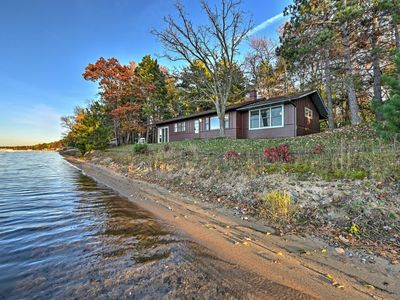 Photo for Pelican Lake Cabin w/ Breathtaking Sunset Views!