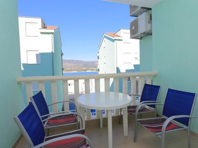 Photo for Two bedroom apartment with terrace and sea view Mastrinka (Čiovo)