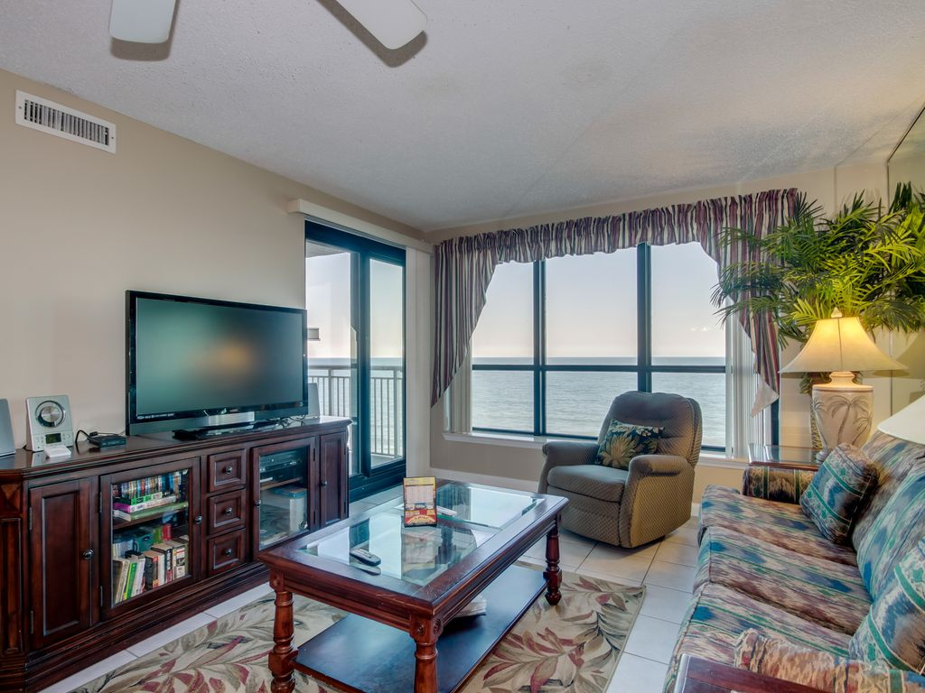 3 Bedroom 2 Bathroom Oceanfront Condo North Myrtle Beach Myrtle Beach Grand Strand Area