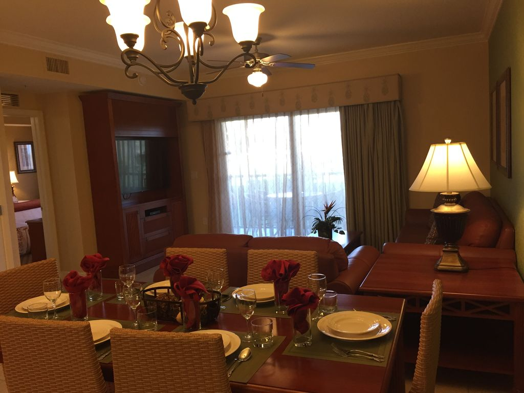 Two Bed Deluxe Condo At Westgate Town Homeaway Kissimmee