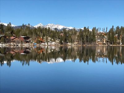 Photo for Lake View Log Cabin Retreat in Grand Lake, family friendly