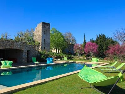 Photo for large villa in Provence for rent, Lourmarin villa rental, villa to let in France Provence, Villa with pool France