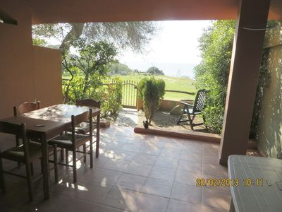 Photo for Holiday home only 30 metres from the sea – Casa Accu is Prezzus G