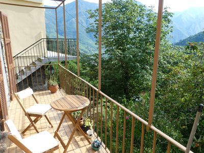 Photo for Village house in the mountains, 45km from Nice