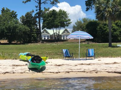 Photo for FEW SUMMER WEEKS LEFT.  BOOK NOW FOR FALL!! BAYFRONT HOME W POOL JUST OFF SGI