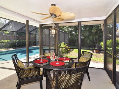Photo for Prime Vanderbilt Beach Location With High Quality Heated Pool, Privacy, Décor