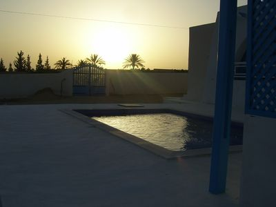 Photo for Villa, Haouch of djerbienne style with pool near beach, Sidi Jmour.