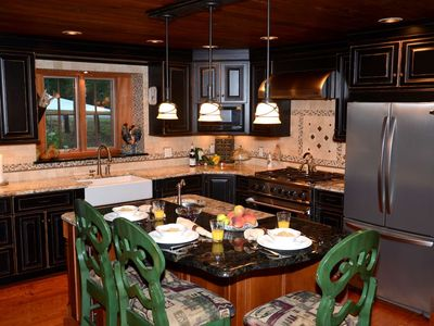Photo for Gorgeous Adirondack Lodge-Walk To Town - Hot Tub-Game Room-Check It Out!!