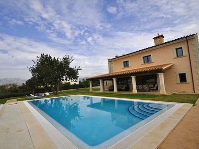 Photo for JAIMA- Villa with pool 8 pax in Marratxí. 4 bedrooms Satellite TV. Clear views- 84895 - Free Wifi