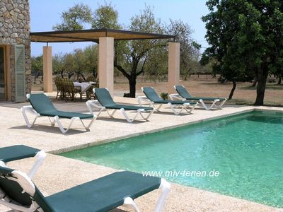 Photo for Modern finca Floriana No. 4 in Cala Millor in Majorca for 6 persons, with pool.