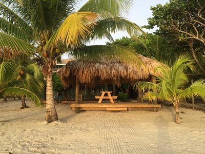 Photo for The Ultimate Ocean Front Property. Paradise With a Tiki Hut and Private Beach!