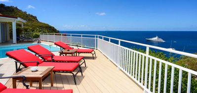 Villa Grands Galets  -  Ocean View - Located in  Tropical Lurin with Private Pool
