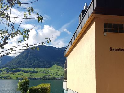 Photo for Apartment Seestern am See in Ennetbürgen - 6 persons, 3 bedrooms