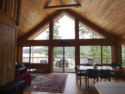 Photo for 2 Bedroom + Loft Chalet with Floor-to-Ceiling Windows & Stunning Views