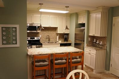 New Kitchen with granite countertops and Beautiful Cabinets!