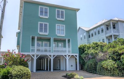 Photo for Family Tides Ocean View Condo W/ Elevator 1 Block To The Beach.