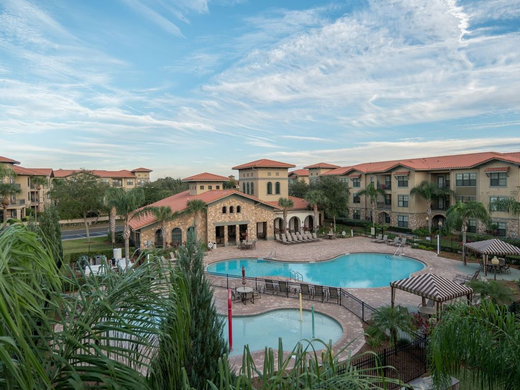 Welcome To This Beautiful Condo In Bella Piazza Resort Pool Near
