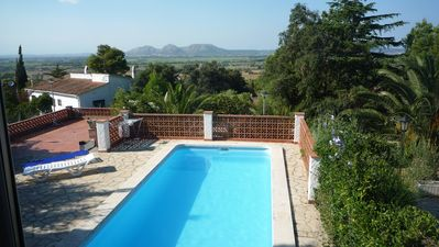 Photo for Private Pool Mountain and sea view sleeps 4 - 5 (2 bedrooms)