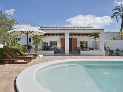 Photo for Villa With Private Pool & Garden, 5 minutes walk to the Beach