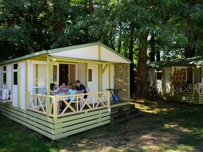 Photo for Camping La Bastide *** - Premier Chalet 3 Rooms 4 Persons