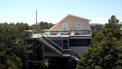 Photo for Ocean-side 2-story with great upper deck