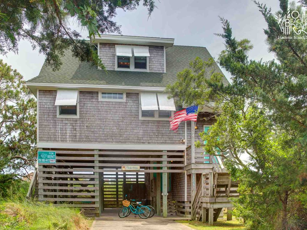 Adorable oceanside cottage on hatteras homeaway for Hatteras cabins rentals