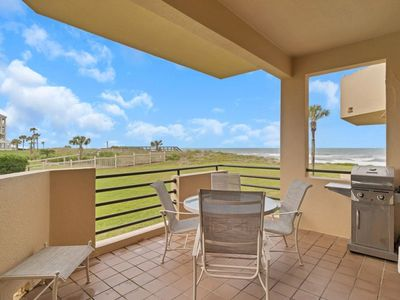 Photo for New Listing!! Beautifully Appointed Ground Floor Beach Front Condo