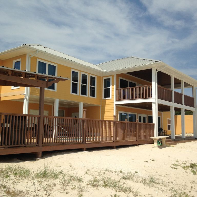Fort Morgan Beach Houses: Top O' The Dunes-Luxurious Family Friendly ...