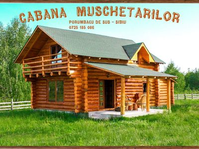 Photo for Mountain log chalet/cabin at the foot of Fagaras Range in Carpathian Mountains
