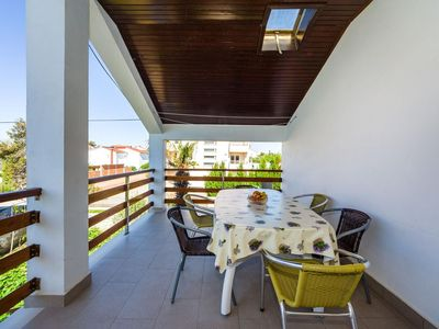 Photo for Three bedroom apartment with terrace Nin (Zadar)