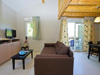 Photo for Residence Les Cottages du Lac *** - Cottage 8 People