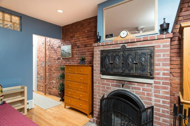 CharmingStudio,full kitchen,fireplace & Victorian garden in historic South End