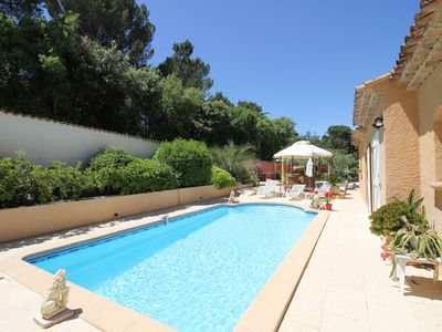 Photo for Cozy Holiday Home at Roquebrune-sur-Argens with Pool