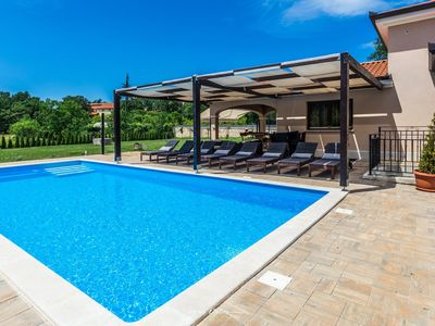 Photo for Lovely family villa with private pool near Rovinj