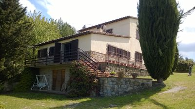 Photo for Detached house with private pool, Valdorcia - UNESCO