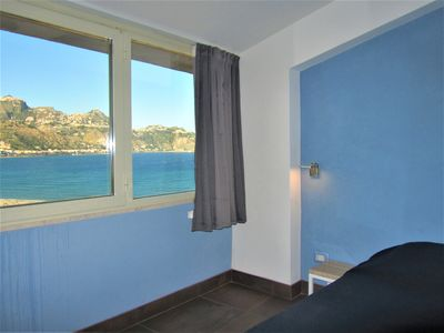 Photo for Beachfront Superioir 1-bedroom Apartment With Excellent Views, Wifi and Parking