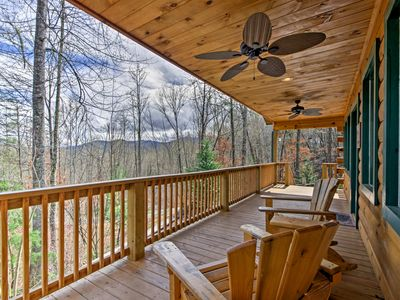 Photo for Cozy Bryson City Cabin - 2 Miles to Downtown!
