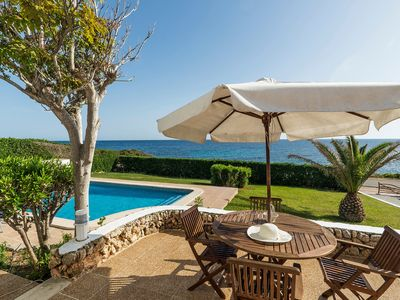 Photo for Dream location with sea view & pool - Villa El Guerito