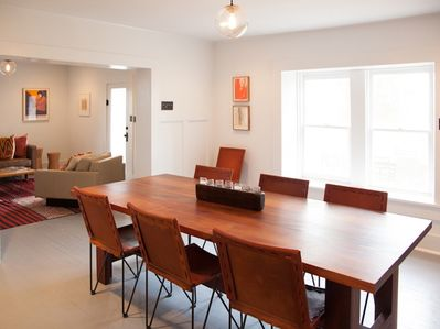 Dining Room featuring chairs by Garza Marfa