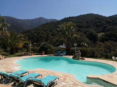 Photo for Pleasant new studio with swimming pool near Ajaccio and Porticcio