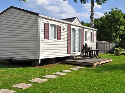 Photo for Vacation home Camping Le Val de l'Aisne in Erezee - 4 persons, 2 bedrooms