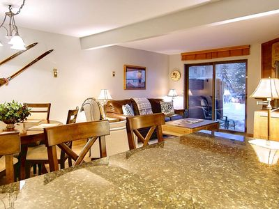Photo for End of Summer Deals! Private Patio, Steps from Great Pool, Hot Tubs, Tennis, Grills, Walk to Mtn