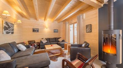Photo for Beautiful new chalet, upscale, for a pleasant stay in the mountains