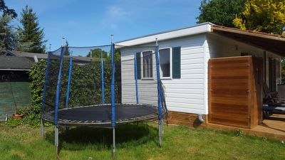 Photo for 4 person chalet lizzy estate the kingfisher with sauna