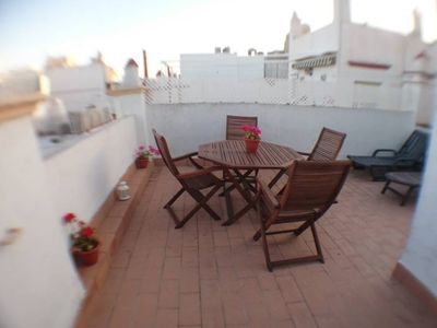 Photo for Plaza Mina. Penthouse with solarium in the center (WIFI)