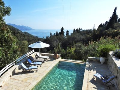 Photo for Amazing villa for 8 people in Corfu