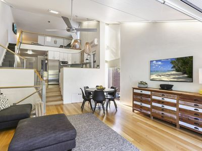 Photo for Walking distance to Hastings Street & main beach, stunningly furnished!!